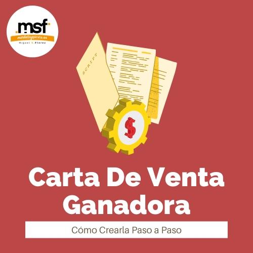 CÓMO CREAR UNA CARTA DE VENTA GANADORA